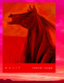Motif Cheval Rouge